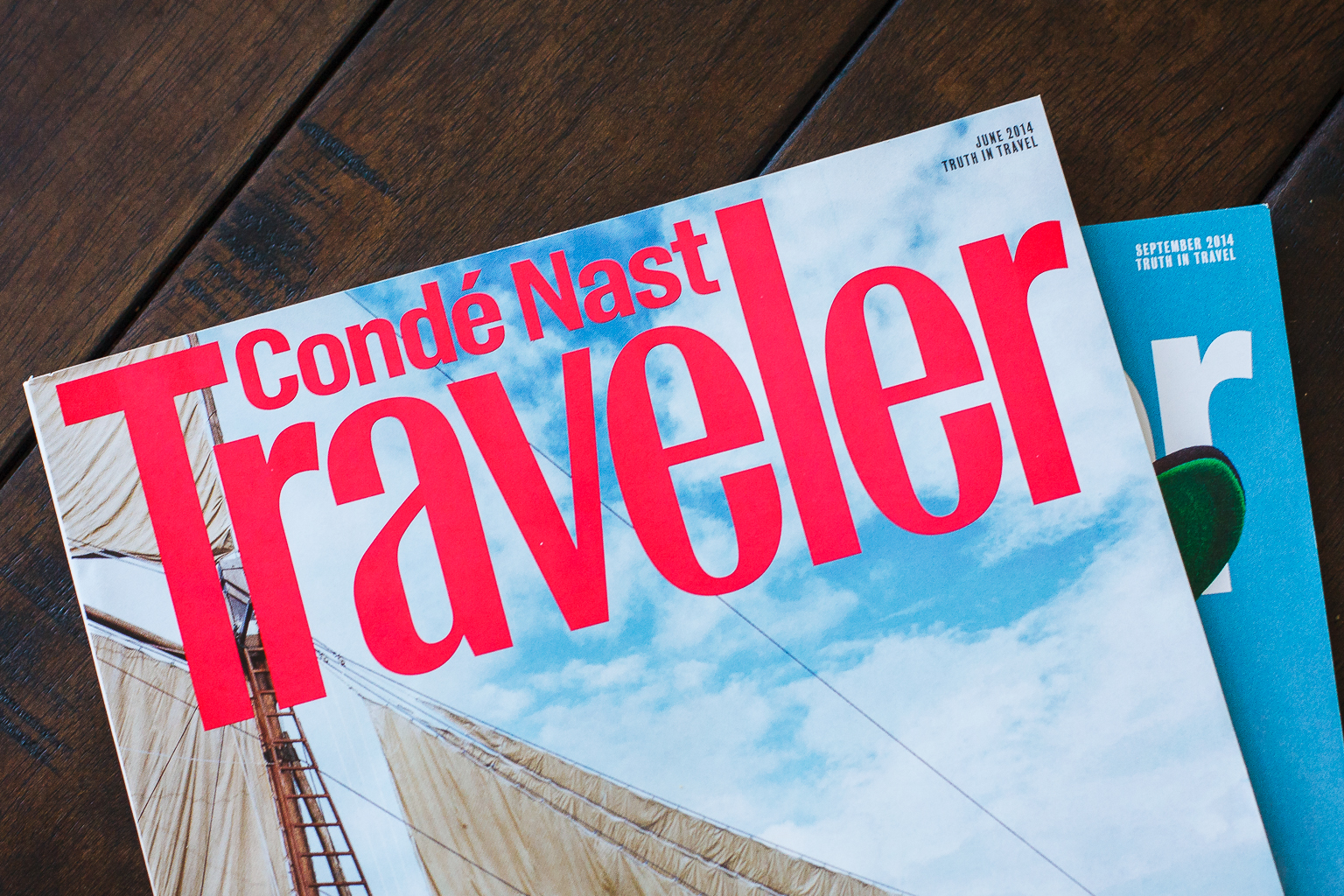 Conde Nast Traveler Magazine Is a Waste of Money
