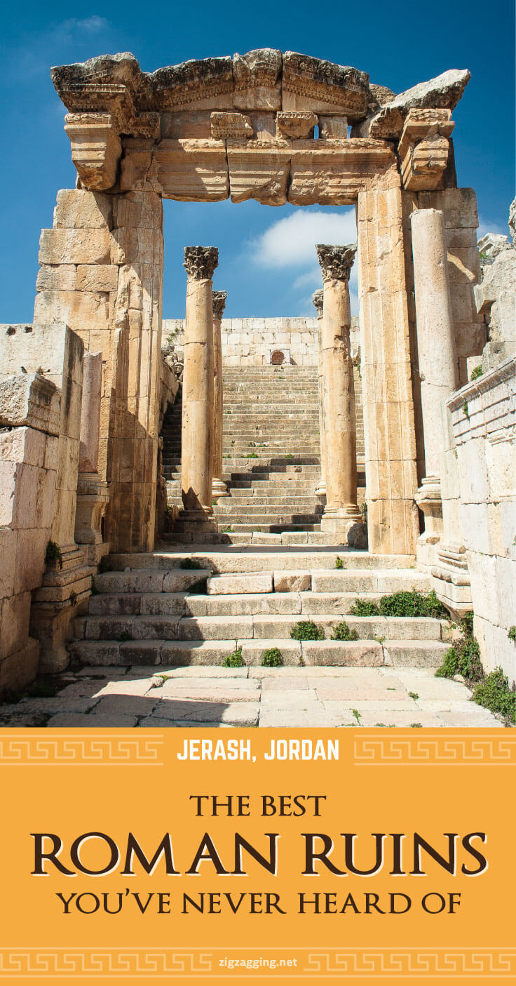 Jerash, Jordan - The Best Roman Ruins You've Never Heard Of