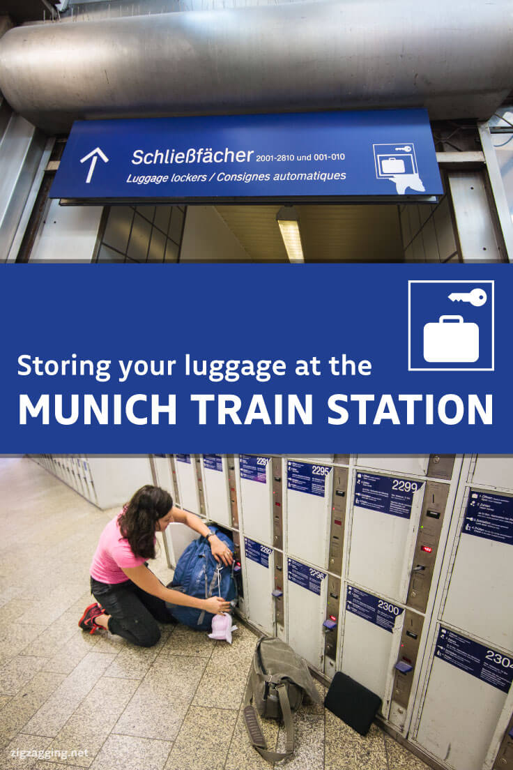 Store Your Luggage at the Munich Train Station