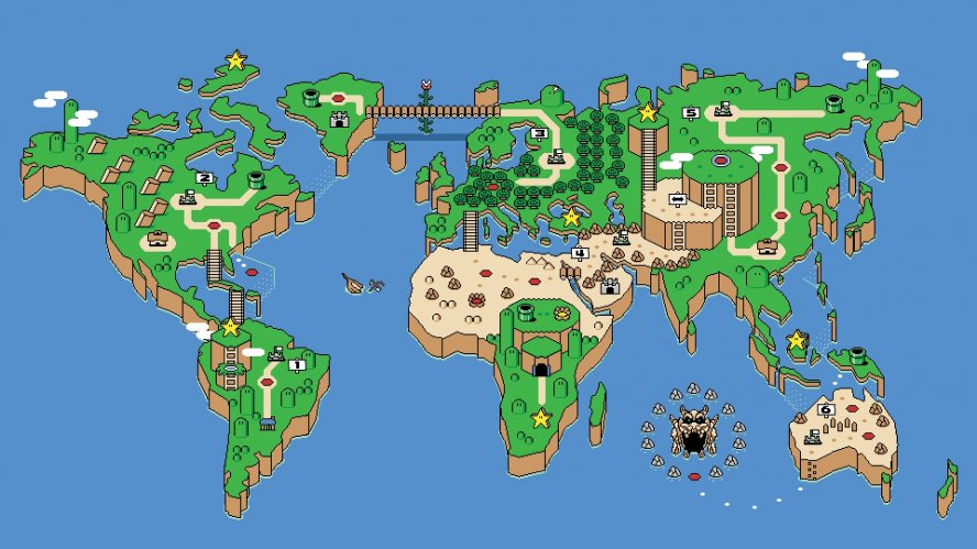 Game Boy Around the World
