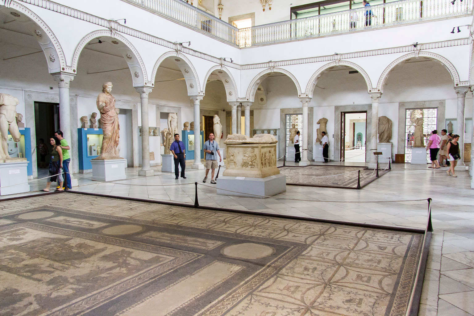 Inside the Bardo Museum