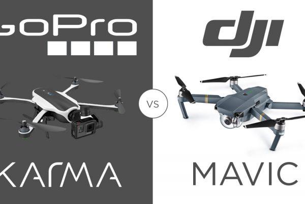 GoPro Karma vs DJI Mavic