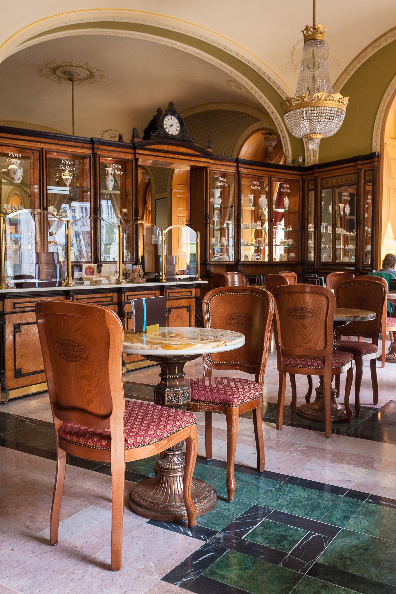Cafe Gerbeaud, Budapest