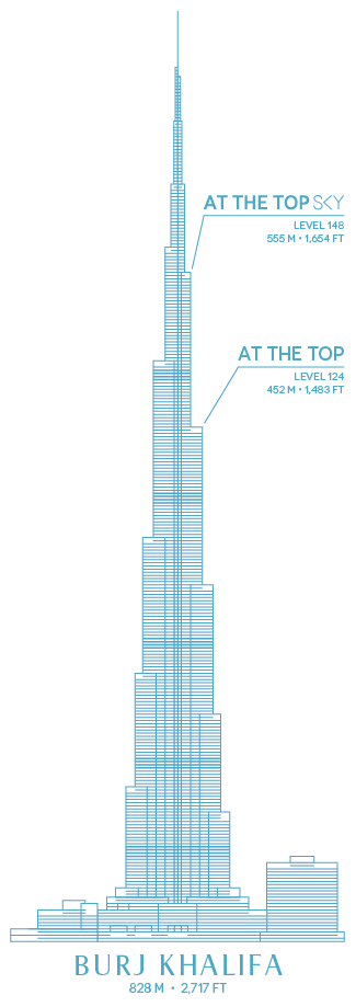Burj Khalifa Illustration