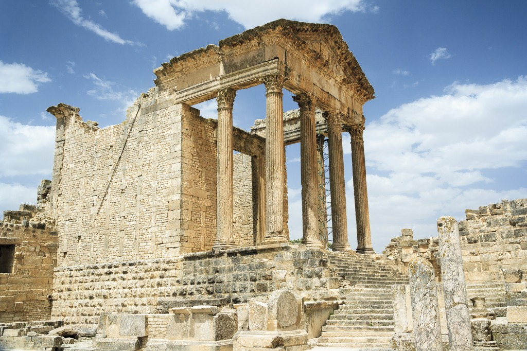 Ruins at Dougga, Tunisia