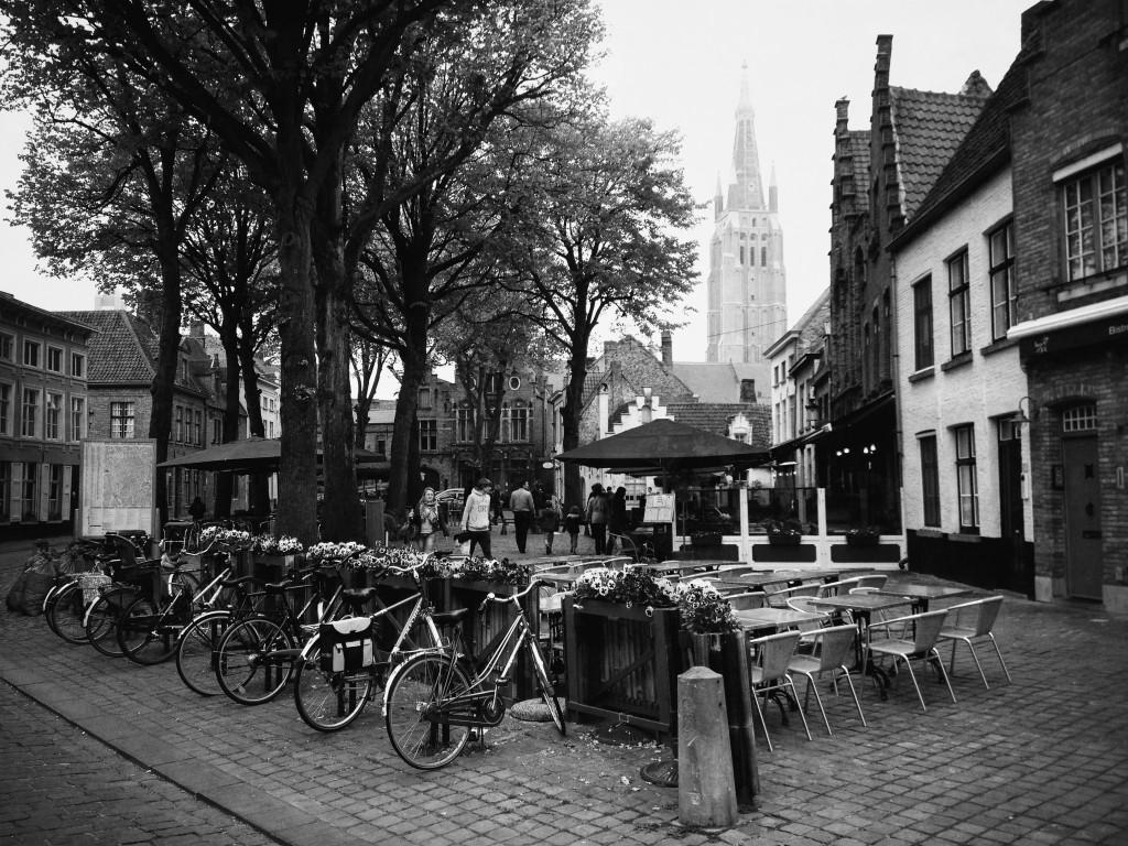 Walplein Square, Bruges, Belgium