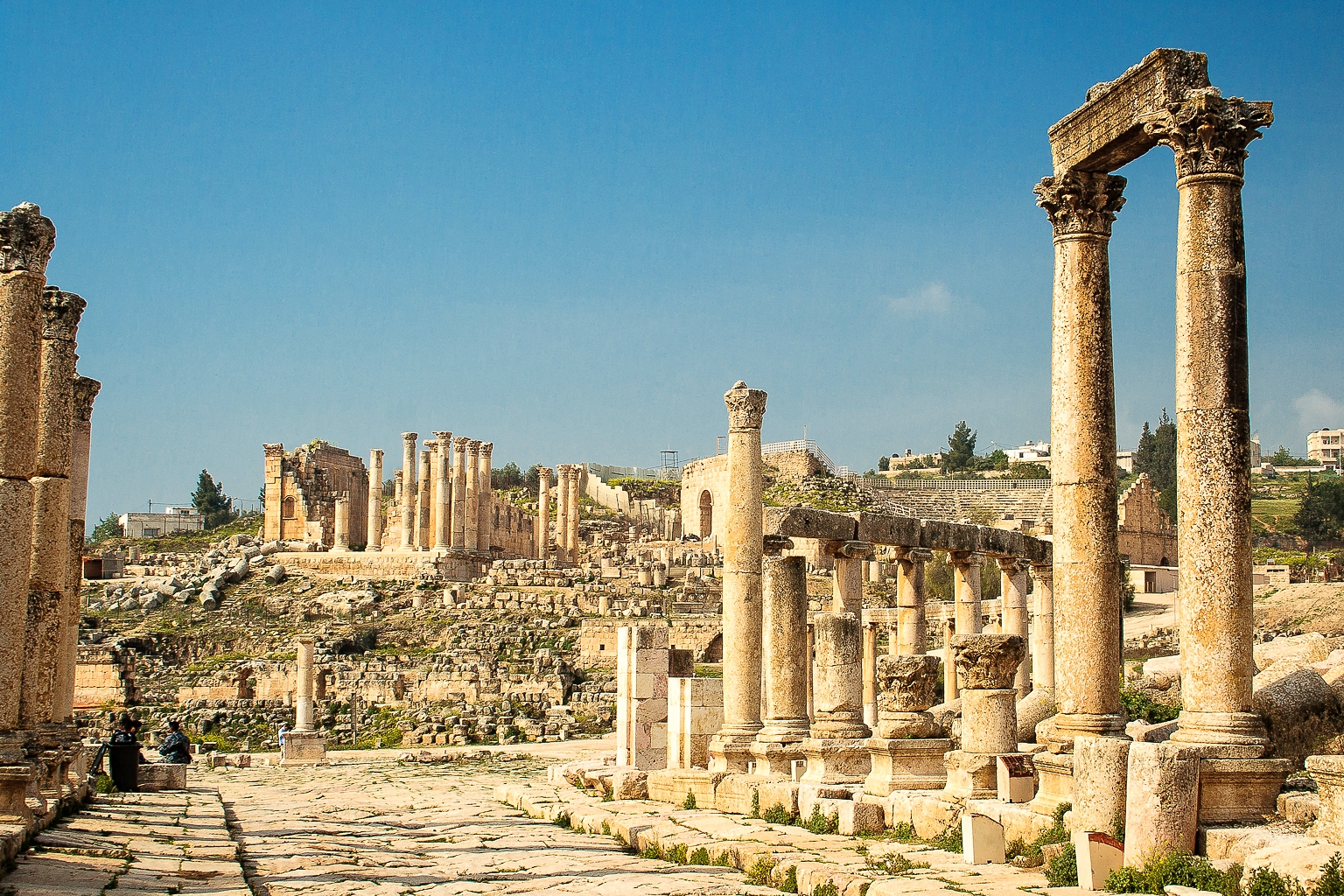 Temple of Zeus, Jerash, Jordan