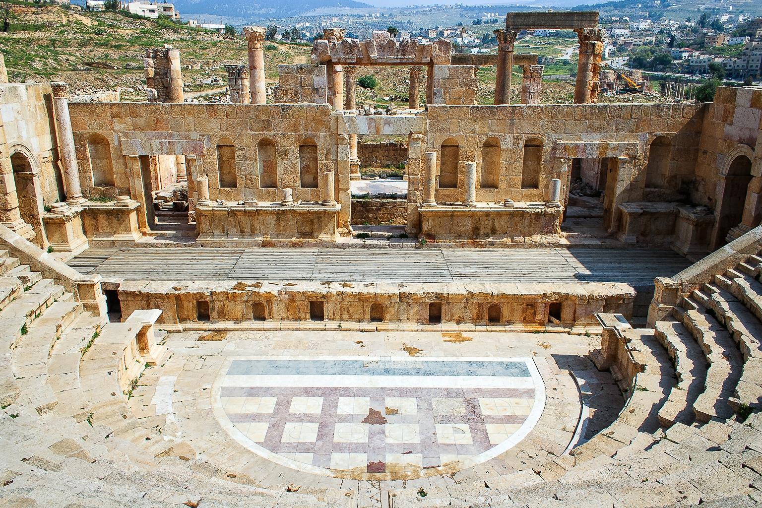 North Theater, Jerash, Jordan