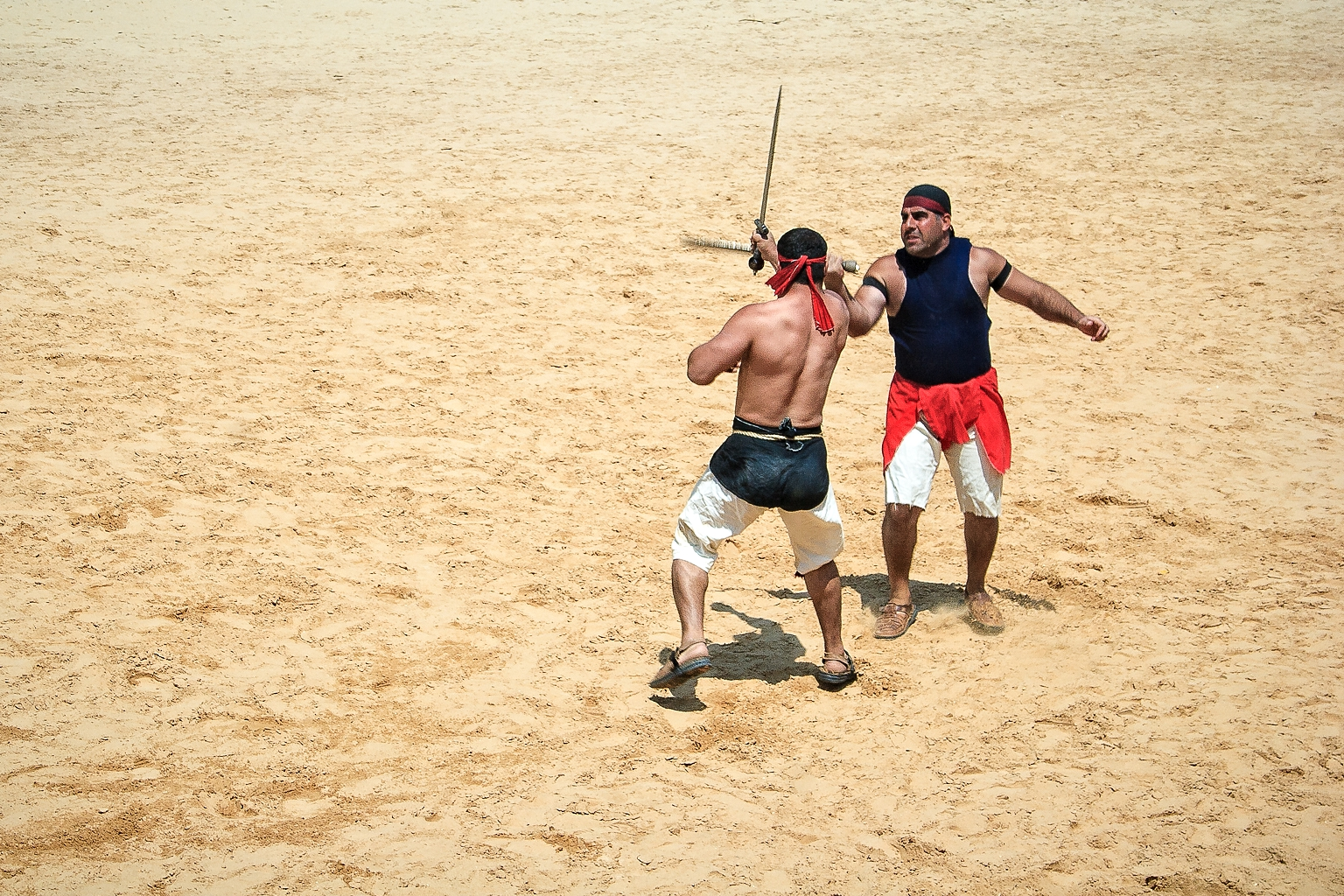 Gladiators, Jerash, Jordan