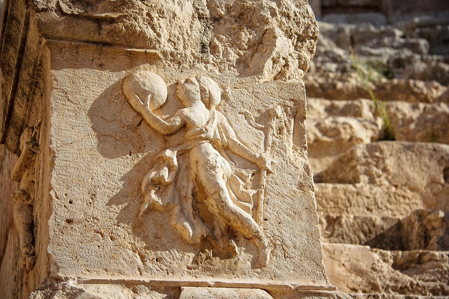 Stone Details, Jerash, Jordan