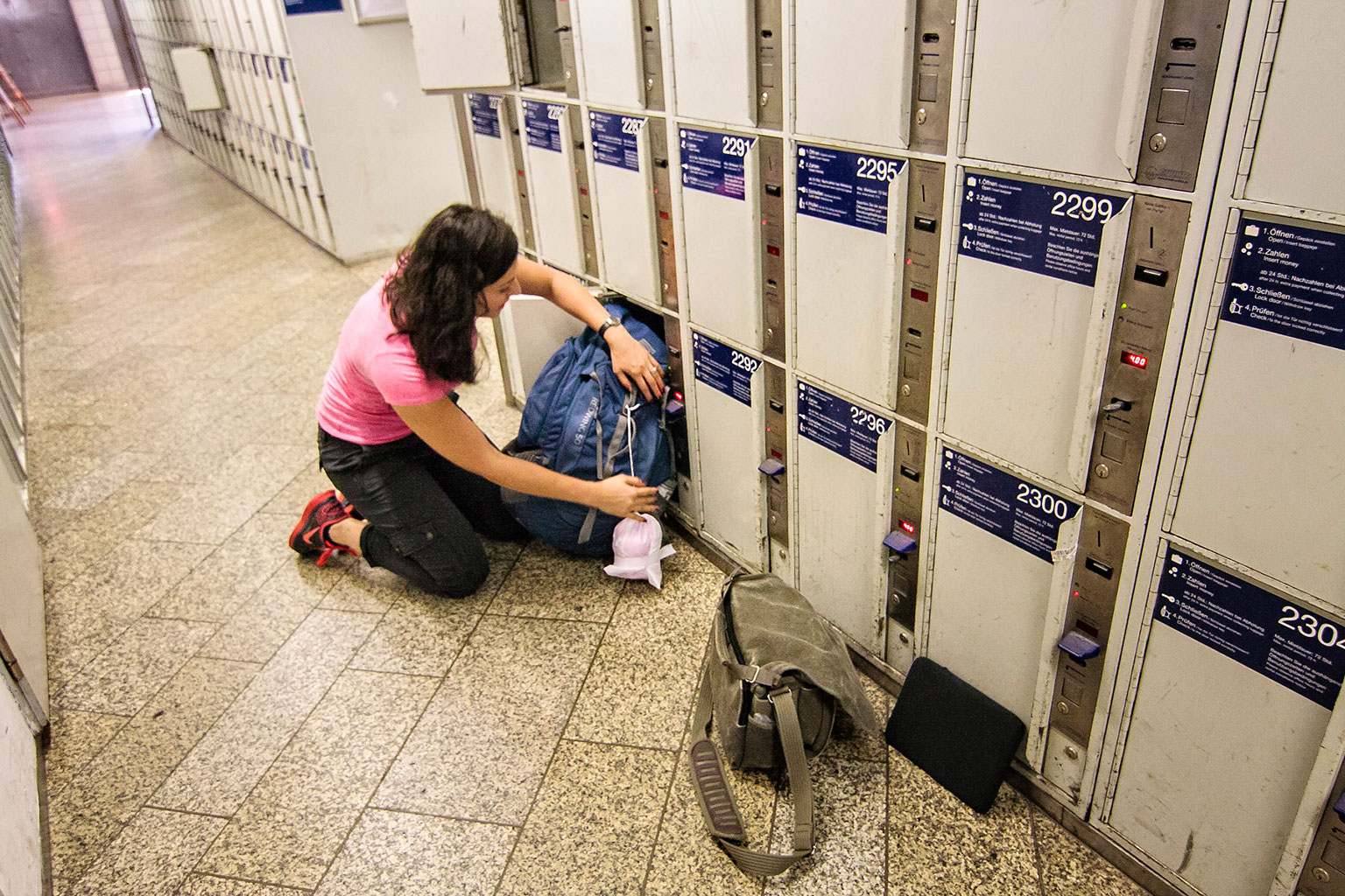 Munich Train Station Luggage Lockers