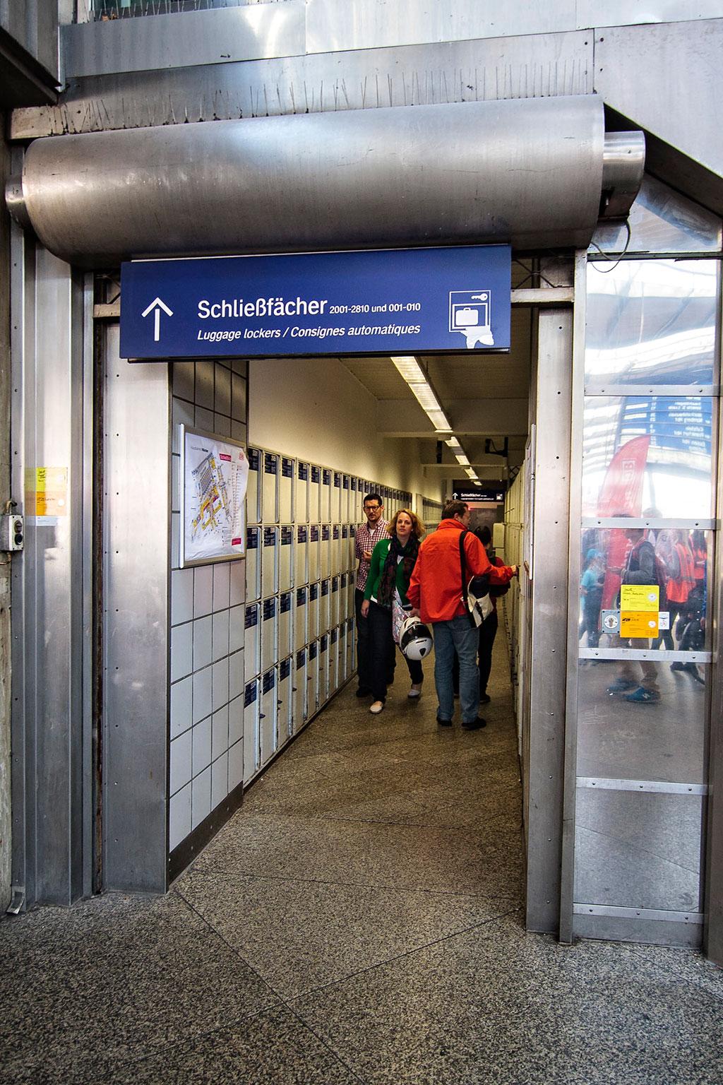 Munich Train Station Luggage Lockers