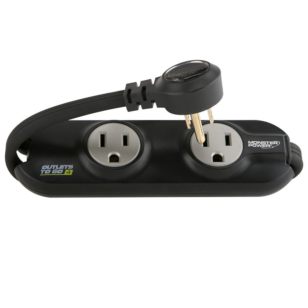 Monster Outlets To Go Power Strip