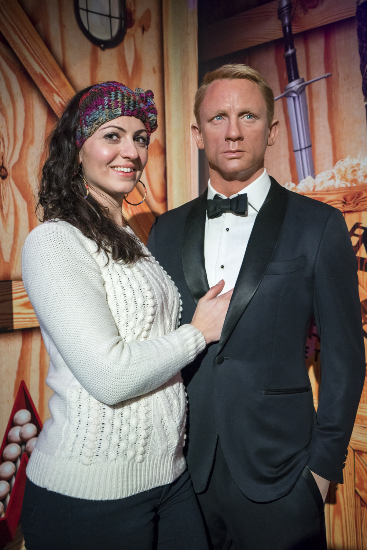 Daniel Craig at Madame Tussauds wax museum