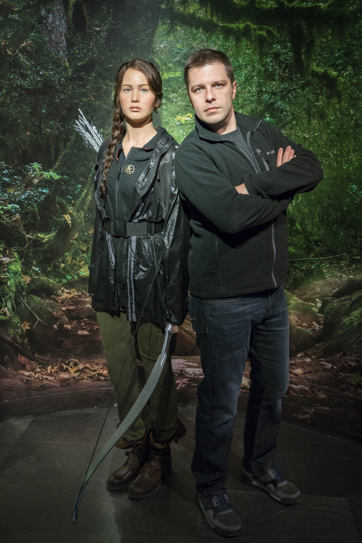 Jennifer Lawrence at Madame Tussauds