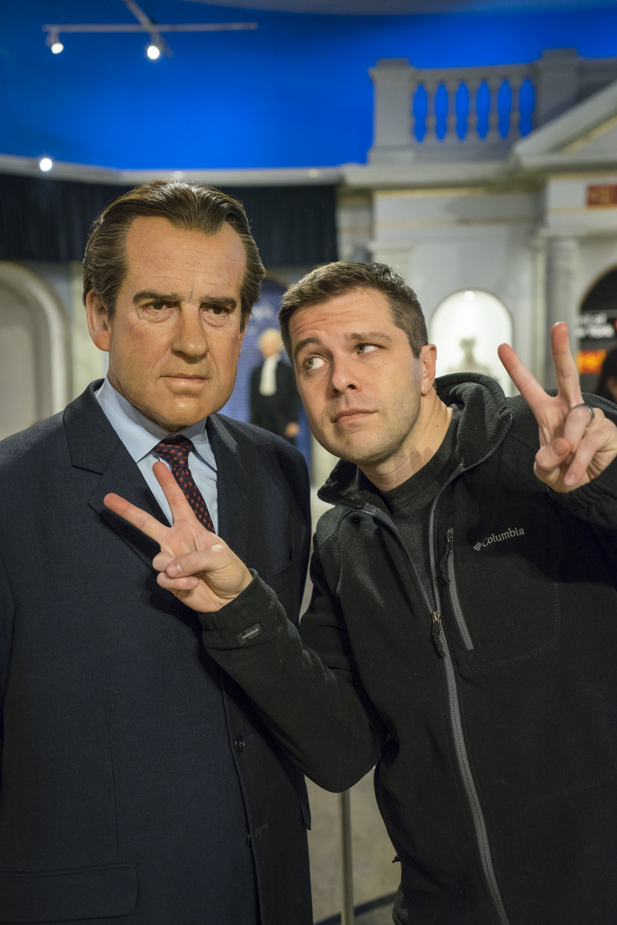 Richard Nixon at Madame Tussauds wax museum