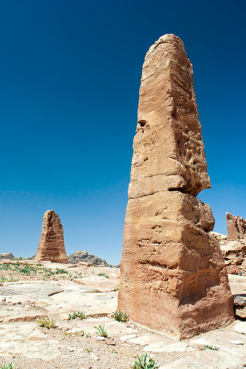 Obelisks at the High Place of Sacrifice