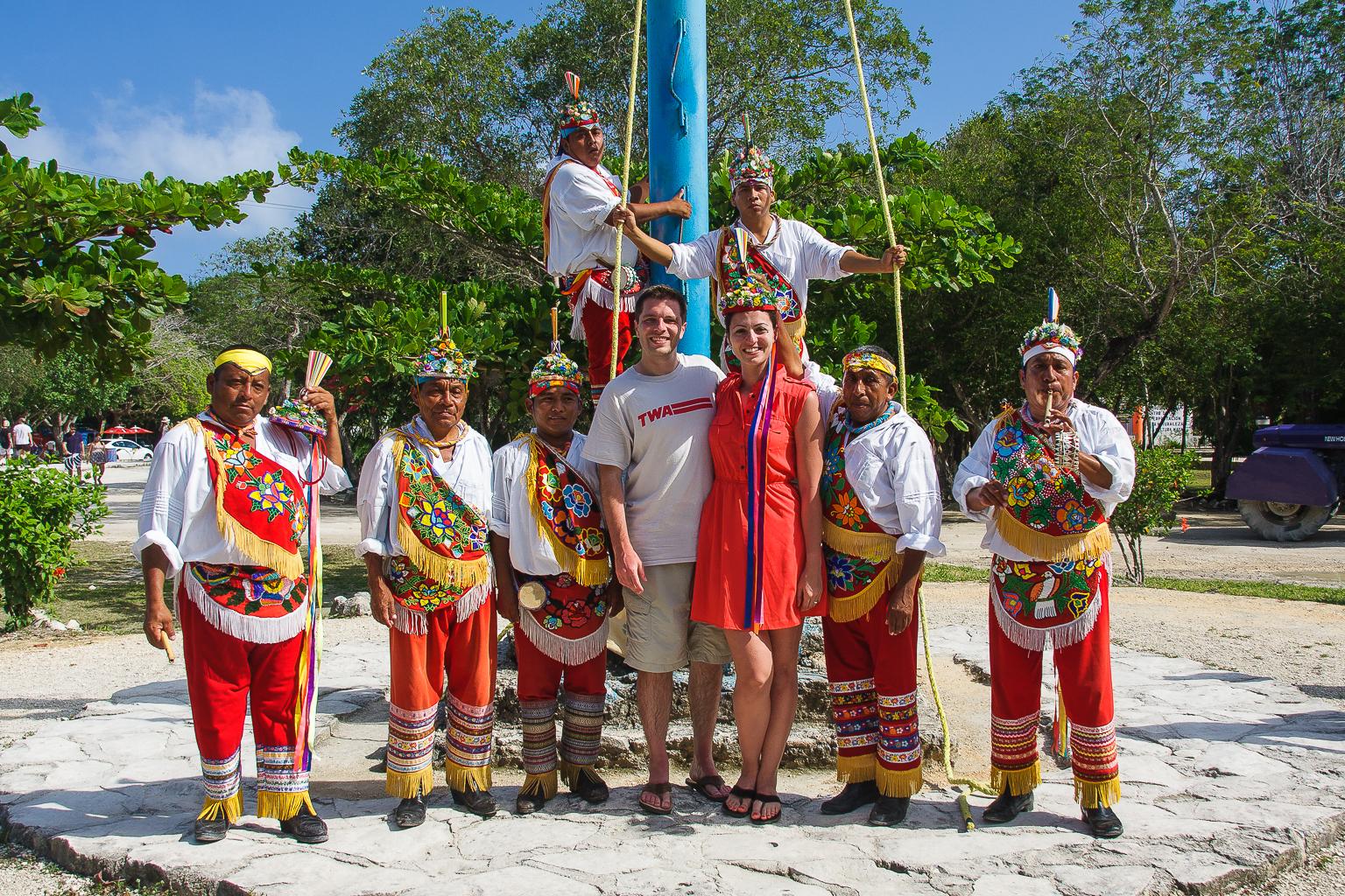 Mayan Swing Performers