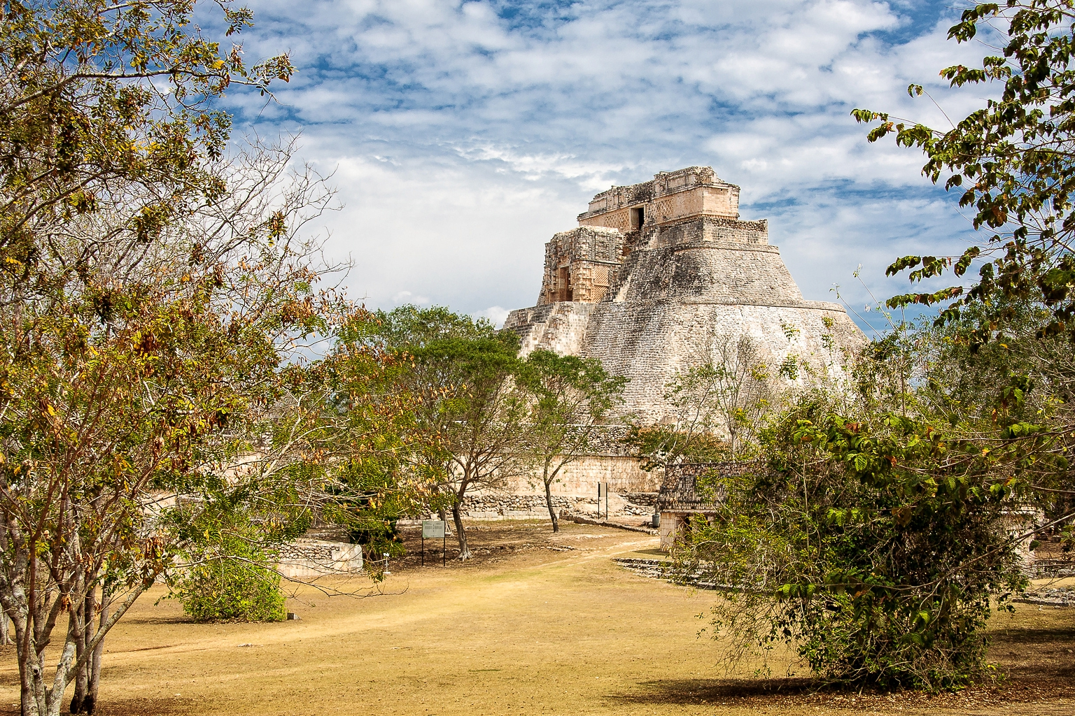 Pyramid of the Magician - Uxmal