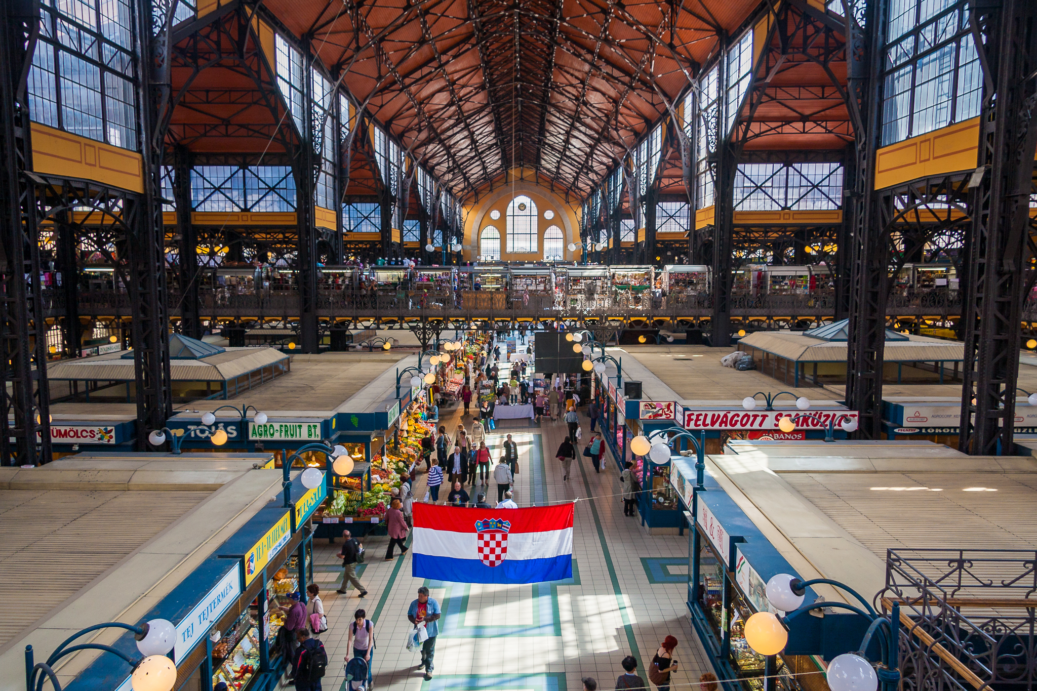 Central Market Hall, Budapest