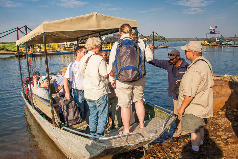 Transport across the Zambezi River