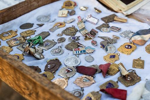 Vintage pins, Havana, Cuba