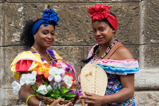 Cigar ladies, Havana, Cuba