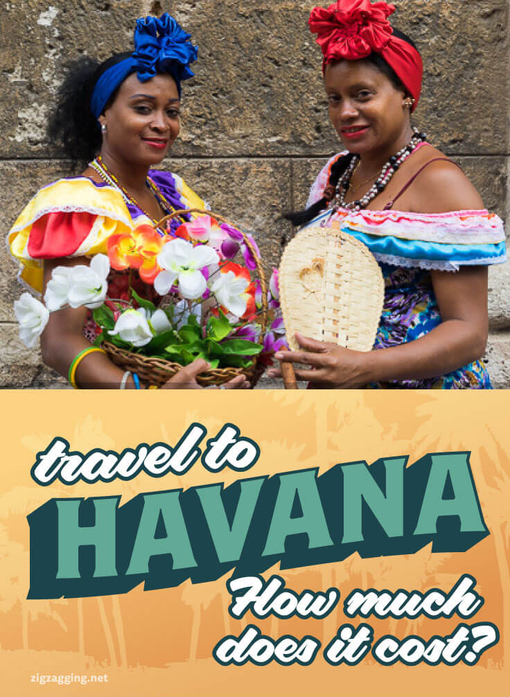 Cost to travel to Havana, Cuba