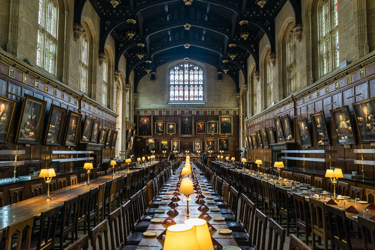 Christ Church Great Hall, Oxford, England