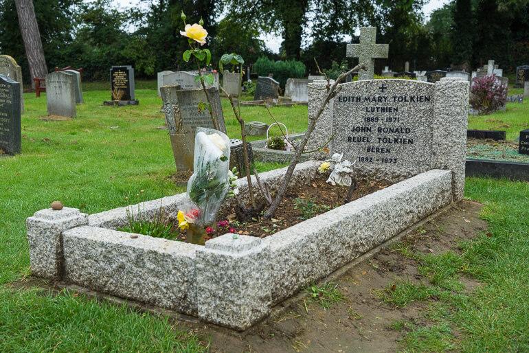 Grave of JRR Tolkein
