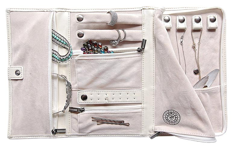Case Elegance Travel Jewelry Case