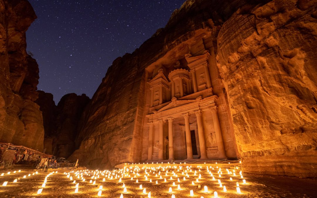 How to Photograph Petra by Night