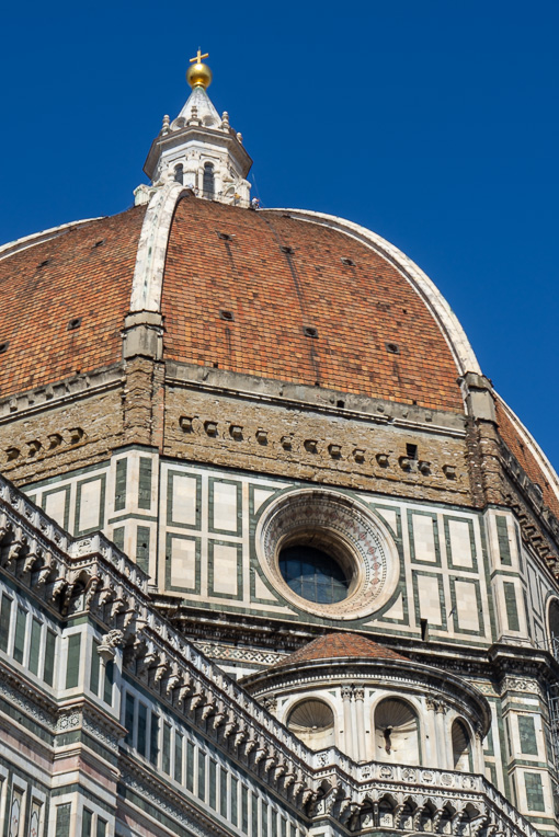 The dome of the Florence Cathedral