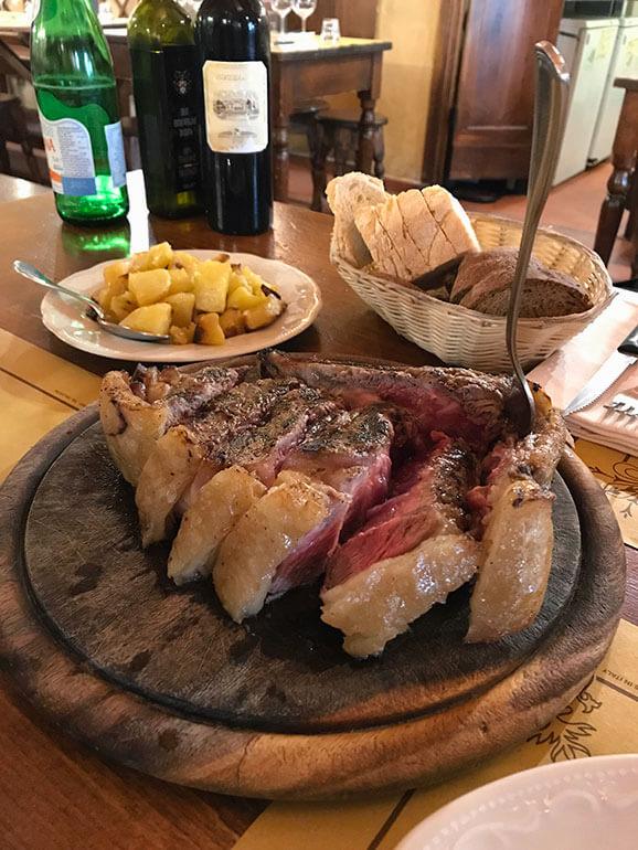 Florentine Steak, Florence, Italy
