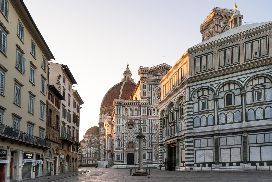 Florence Cathedral at sunrise