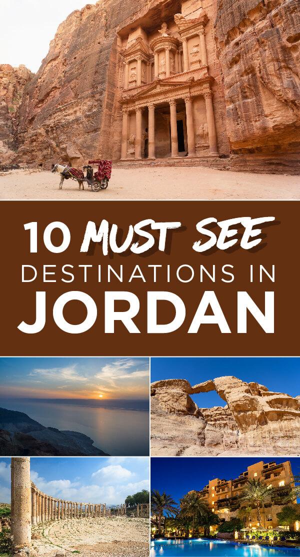 Ten must-see destinations in Jordan