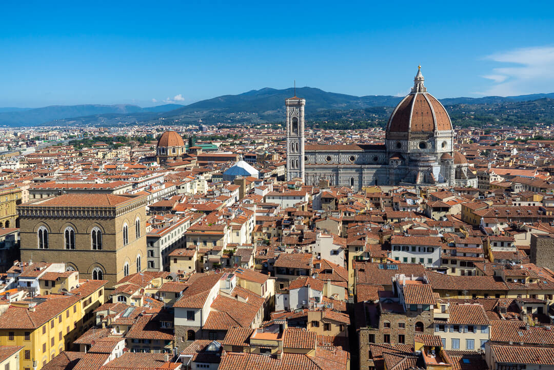 Florence Cathedral (Duomo) - a view from Palazzo Vecchio